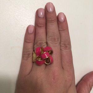 Lilly Pulitzer Enamel Bow Ring